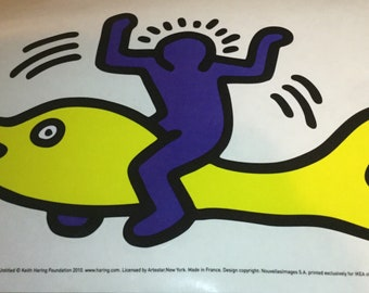Ikea Keith Haring Sticker Decal Slatthult Art Collectable