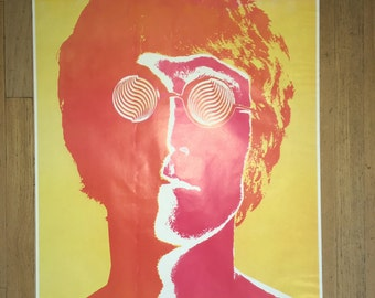 John Lennon poster by Richard Avedon FREE SHIPPING