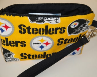 NFL Pittsburgh Steelers Wristlet Personalization Optional