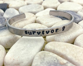 Survivor Ribbon Cuff