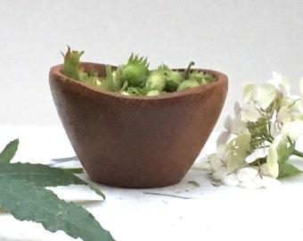 Bowl teak vintage - Mid century teak bowl