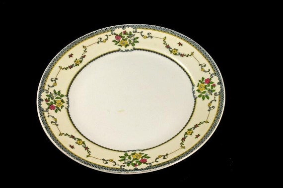 Salad Plate, Jonroth, Hand Painted, Tremont Pattern, China, Made in Japan
