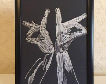 The Spanish Flamenco Dancer