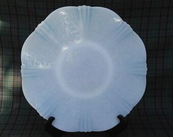 Opaline Translucent Milk Glass Platter