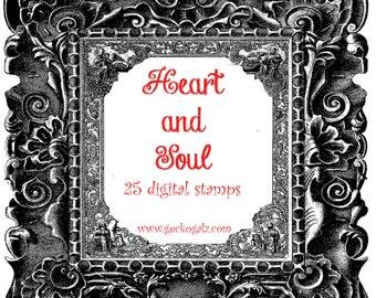 Heart & Soul Digital Stamp Set