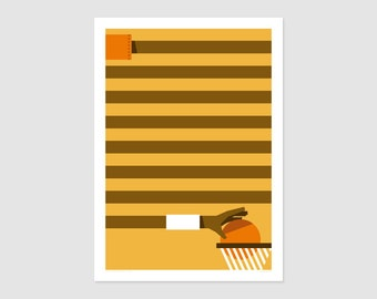 Print - Affiche Basketfever No6 - 50x70