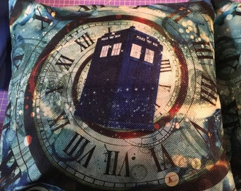 Dr. Who Pillows Set of 2
