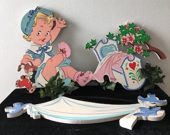 1940's - 1950's Dolly Toy Co. Nursery Rhymes Figures