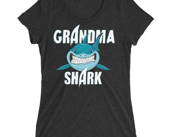 Grandma Shirt - Grandma Shark - Shark Shirt - Shark - Shark Birthday - Shark Week - Sharks - Shark Tshirt - Shark Birthday Shirt