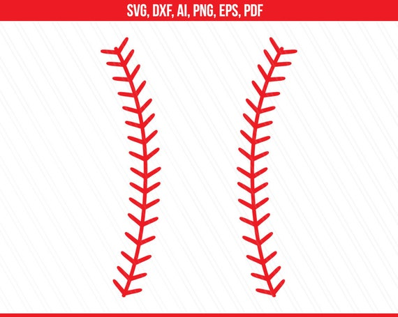 Baseball stitches svg, Baseball stitches monogram svg ...