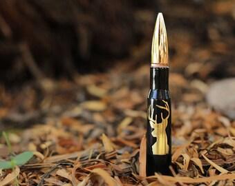 Deer 50 Caliber Bullet Bottle Opener. Bottle Breacher. Dad Gift. Husband Gift. Groomsmen Gift. Guy Gift. Hunting Gift. Father's Day Gift