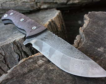"Handcrafted FOF ""Ranger"", survival, hunting or tactical knife"