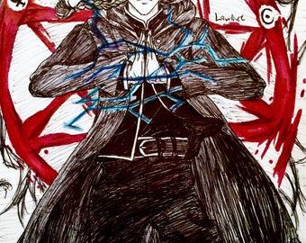 Fullmetal Alchemist Art Poster
