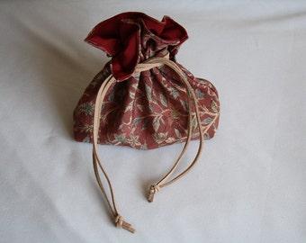 Japanese Silk Bag Leafs