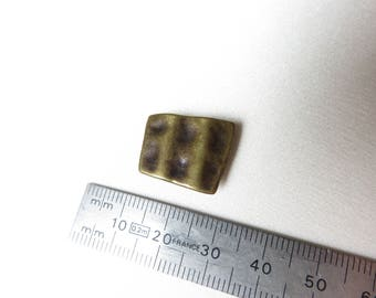 Hanging cord square brass bronze