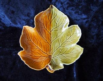1950's Royal Winton Leaf Dish