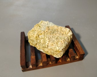 Handmade Soap // Vanilla, Honey, Floral Scented // Small Batch // Cold Process Soap // Sweet Soap // Bar Soap // Floral Soap