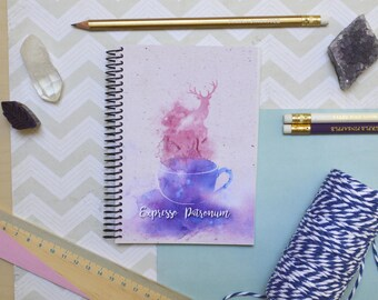 Expresso Patronum — Harry Potter inspired pocket size notebook gift idea