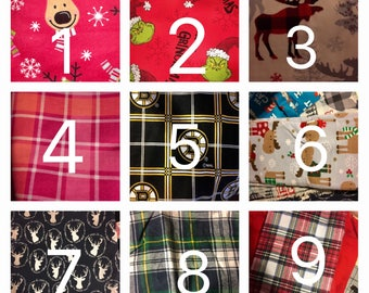Christmas/winter dog scarves/bandanas