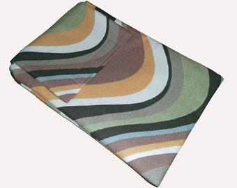 Brown Retro Inspired Swirl eReader Laptop Case Cover Bag fits Kindle Tablet - Gift Idea