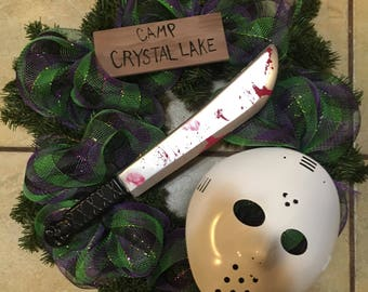 Friday the 13th wreath
