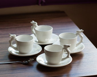 Coffee cups set (4 pieces)