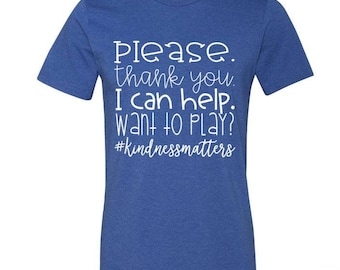 Kindness Matters Teacher Tee