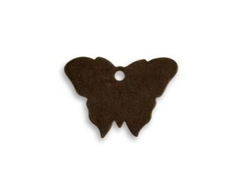 2 Pieces Small Brass Butterfly Blanks by Vintaj Item P0511