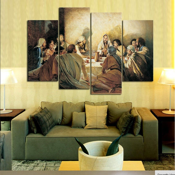 Awesome Last Supper Wall Decor Gift - Wall Art Design ...