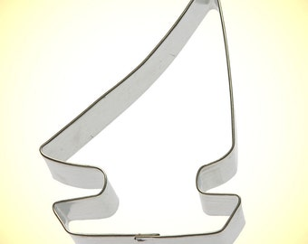 """Sailboat Cookie Cutter 3.5""""  Sailing Boat cookie cutter,nautical cookie cutter, made in the USA, beach party"""