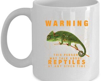 Reptiles Coffee Mug Perfect Gift for Your Dad, Mom, Boyfriend, Girlfriend, or Friend - Proudly Made in the USA!