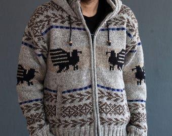 Moab Wool Sweater with Fleece Lining