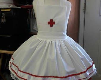Red Cross Apron