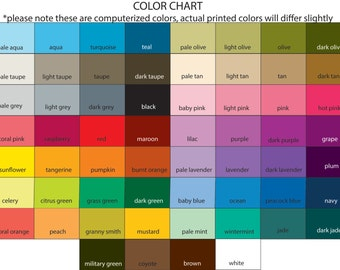 Custom Color Chart Swatch Book Swatchbook