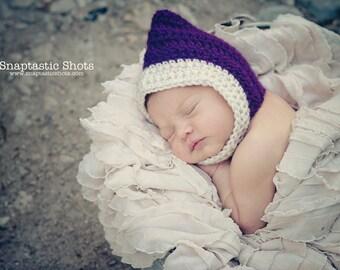 Newborn Pixie Gnome Hat Bonnet
