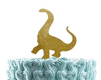 Dinosaur Cake Topper, Birthday Party Decorations