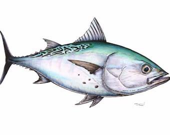 Albacore Fish   Albacore Etsy