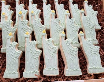 24 Statue of Liberty Cookies, New York City, Big Apple