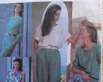 Simplicity 8490 Easy Basics - Pullover Top, Pull-on Skirt and Pants Sewing Pattern - Sizes L (18-20) -XL (22-24), Bust 40 - 46, Uncut