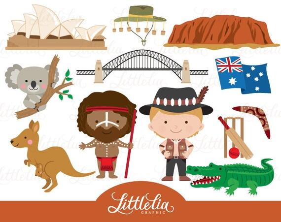 australia clipart aussie clipart 16031 rh etsy com australian clipart pictures australia clipart phillip martin
