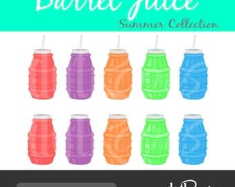 Barrel Juice Clip Art