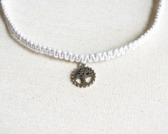 White Hemp Necklace