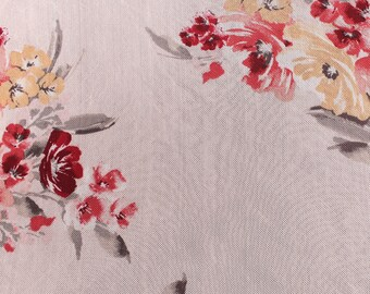 Blush Coral Printed Power Mesh Fabric by the Yard- Style -P-61-453