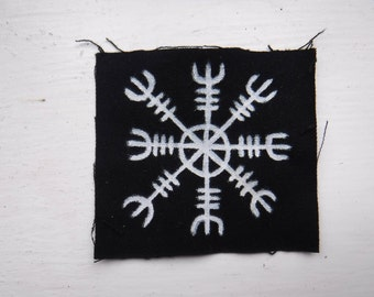 Helm Of Awe - Icelandic Viking Galdrastafir Sigil Patch