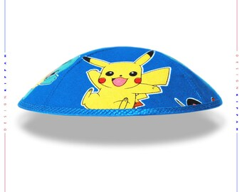 Pokemon kippah yarmulke yamaka kippa.