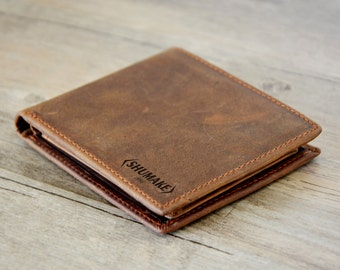 Anniversary gift,Personalized Wallet, Engraved Wallet, Personalized Monogrammed Leather Wallet, Groomsmens Wallet gift Wallet, father gift