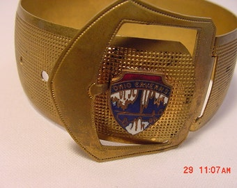 Vintage Ohio Caverns Buckle Bracelet   16 - 36