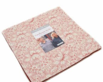 """Farmhouse Reds by Minick & Simpson for Moda Layer Cake - 10"""" Squares"""