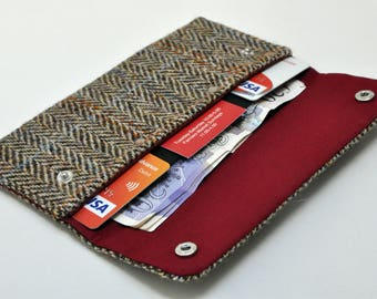 HARRIS TWEED wallet/purse - Edinburgh Collection