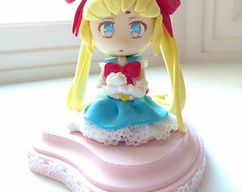 PGSM-Inspired Princess Sailor Moon Figurine
